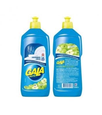 Средство для мытья посуды Gala 500мл, яблоко