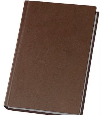 Щоденник напівдатований А5 Nebraska коричневий, Optima