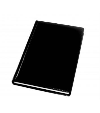 Щоденник напівдатований А5 Caprice чорний, Optima