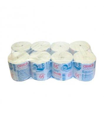 Папір туалетний одношаровий 8рул/уп Кохавинка Джамбо d-19см, зелений