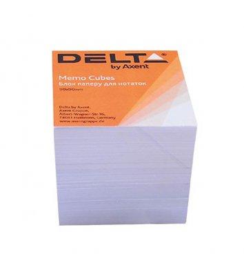 Бумага для заметок 90*90мм 800арк белая непроклеенная, Axent