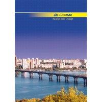 Книга канцелярська А4 96арк лінія тверда обкладинка, Buromax
