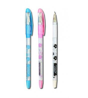 Ручка масляная Love, цвет чернил синий 0,5мм, Piano