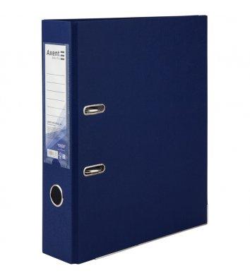 Папка-регистратор А4 75мм односторонняя синяя, Axent