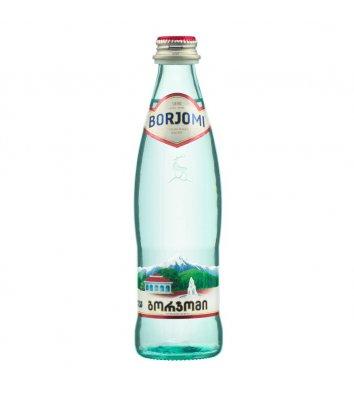 Вода минеральная газированная Borjomi 0,33л стекло