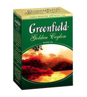 """Чай черный Greenfield """"Golden Ceylon"""" заварной 100г"""