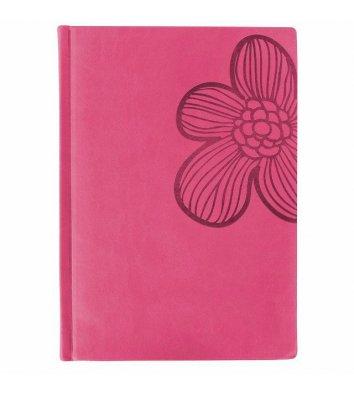 """Візитниця на 90 візиток Vivella """"Квітка"""" рожева, Optima"""