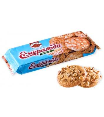 "Печиво ""Есмеральда"" з арахісом 150г, Roshen"