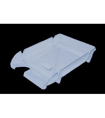Лоток горизонтальный пластиковый прозрачный Компакт, Arnika