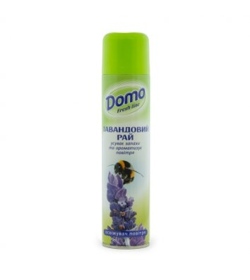 Освіжувач повітря Domo Fresh Line 300мл, лавандовий рай