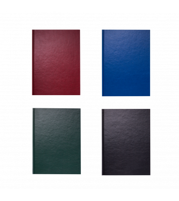 Книга канцелярская А4 192л линия твердая обложка Office, Buromax