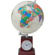 Глобус на дерев′яній підставці з годинником, Bestar