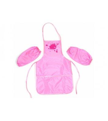 Фартух з нарукавниками 50*30см рожевий, Cool for School