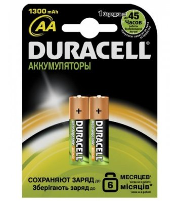 Акумулятор DURACELL HR6 (AA) 1300 mAh