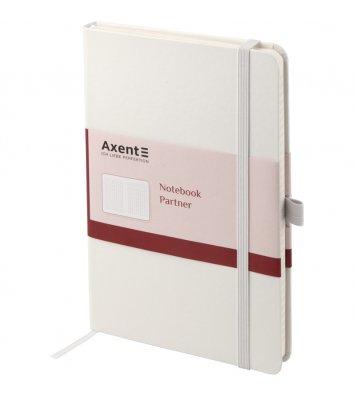 Діловий записник А5 96арк клітинка Partner білий, Axent