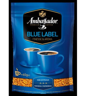 Кава розчинна Ambassador Blue Label, пакет 60г