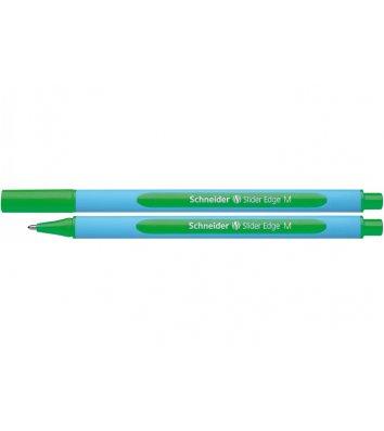 Ручка масляная Slider Edge М, цвет чернил зеленый 0,7мм, Schneider