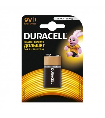 Батарейка Duracell 9V/MN1604 1шт