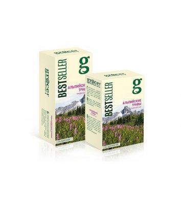 """Чай зелений gr@ce! """"Альпійські Трави"""" заварний 75г"""