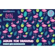 "Альбом для малювання  А4 12арк на скобі ""For girls"" асорті, Cool for School"