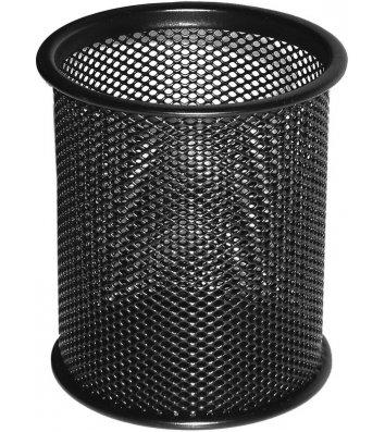 Підставка канцелярська металева чорна, Buromax