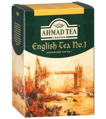 """Чай черный Ahmad Tea """"Английский №1"""" с бергамотом заварной 100г"""