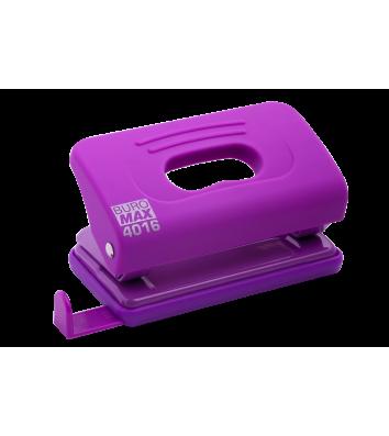 Діркопробивач  10арк корпус пластиковий Rubber Touch колір фіолетовий, Buromax