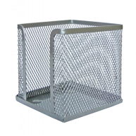 Підставка для паперу металева срібляста, Buromax