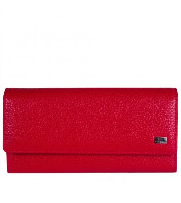 Кошелек кожаный Desisan 150-424, красный