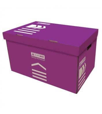 Короб архівний фіолетовий, Buromax