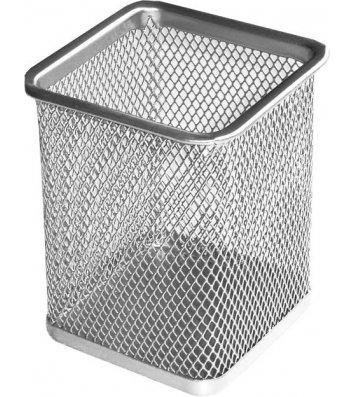 Підставка канцелярська металева срібляста, Buromax