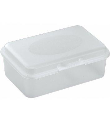 Ланч-бокс Snack 750мл белый прозрачный, Economix