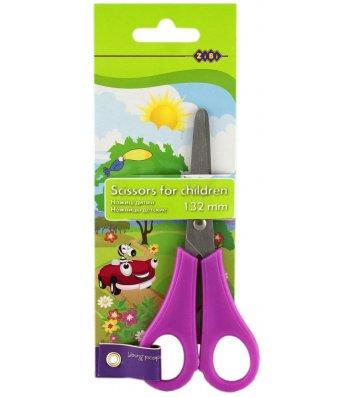 Ножиці дитячі 13,2см ручки пластикові, Zibi