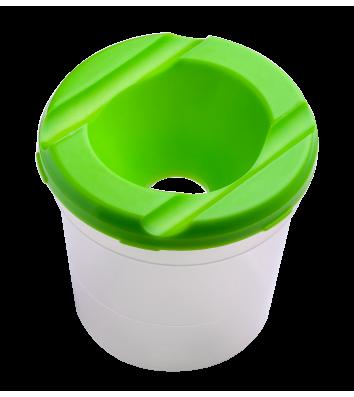 Стакан-непроливайка пластиковий одинарний салатовий, Zibi