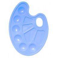 Палитра для рисования пластиковая синяя, Zibi
