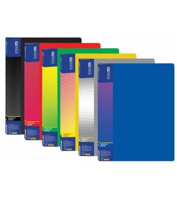 Папка А4 пластикова з 20 файлами асорті, Economix