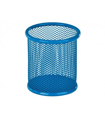 Підставка канцелярська металева блакитна, Optima