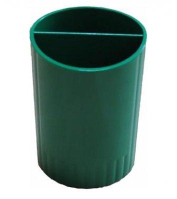 Подставка канцелярская пластиковая зеленая, Economix