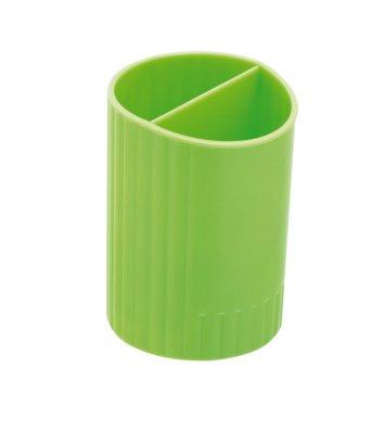 Підставка канцелярська пластикова салатова, Zibi
