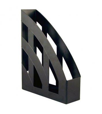 Лоток вертикальний пластиковий чорний непрозорий, Axent