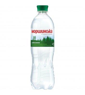 Вода мінеральна слабогазована Моршинська 0,75л