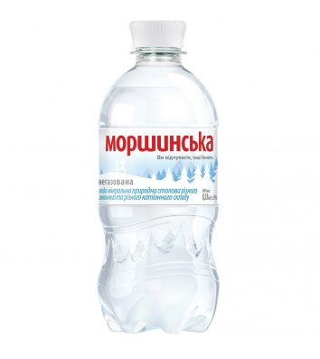 Вода мінеральна негазована Моршинська 0,33л