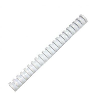 Пружини для брошурування 22мм 50шт  пластикові білі, DA