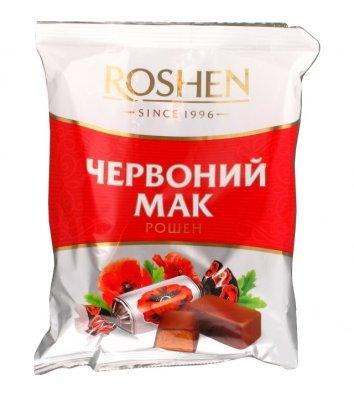 Цукерки Червоний мак 155г, Roshen