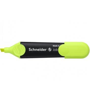 Маркер текстовый Job 150, цвет чернил желтый 1-4,5мм, Schneider