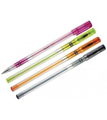 Ручка кулькова Slim, колір чорнил синій 0,5мм, Axent