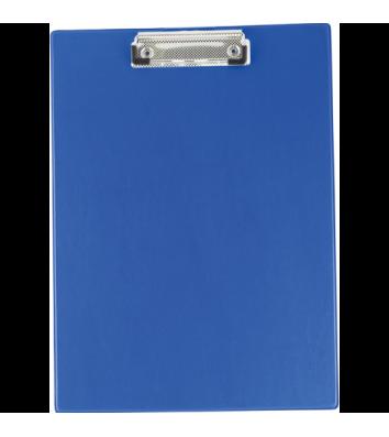 Планшет А4 с прижимом PVC синий, Buromax