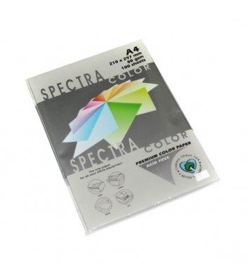 Бумага А4 80г/м2 100л цветная Spectra Color, серая