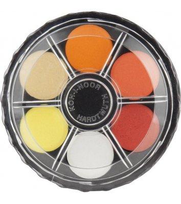 Акварель 18 кольорів суха без пензлика, KOH-I-NOOR