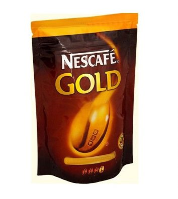 Кофе растворимый Nescafe Gold 210г, эконом пакет